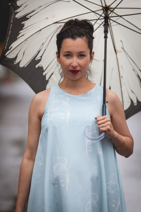 Robe Noémiah / Photo prise par Amélie Fortin